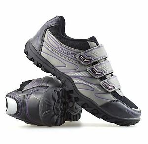 83778664134 Details about Ladies Womens Cycling Shoes SPD MTB Spin Cycle Bike Sports  Trainers Shoes Size