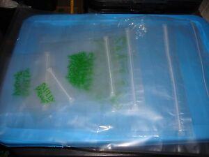 SMELLY PROOF BAGS Baggies Air Tight Herbs Food Bait Grip Seal Pouch Smell Proof