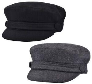 d02e7a42d19 Womens Girls or Mens Fiddler Cap Ladies Baker Boy Hat Newsboy Cap ...
