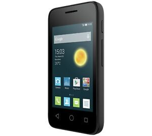 Details about New ALCATEL ONETOUCH PIXI 3 (3 5) Black 3G Unlocked)  Smartphone