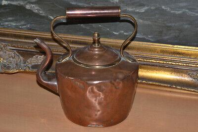 Antiker Kupferkessel, Wasserkessel, Handarbeit