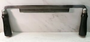 Vtg-Lakeside-8-034-Draw-Knife-shaver-for-Montgomery-Wards-woodworking-hand-tool