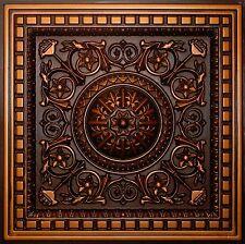 Antique Copper D215 Pvc Ceiling Tiles Tin Look Drop In 2x2 Lot Of 30
