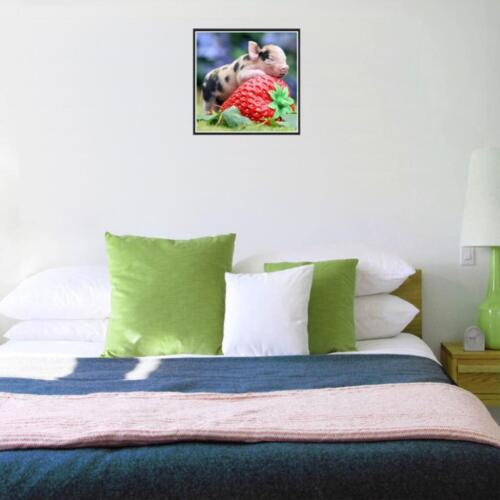 5D Diamond Painting Embroidery Cross Craft Stitch Kit Home Room Decor+Tools