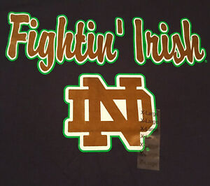 Notre-Dame-Fighting-Irish-T-Shirt-XL-X-Large-NWT-NEW-NCAA-Football-INV1862