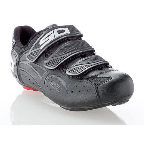 Nueva Bicicleta de carretera de carbono SIDI Zephyr Zapatos De Ciclismo Rojo Negro Negro EU38-40