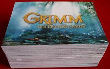 GRIMM- Season 1 - COMPLETE BASE SET (72 CARDS) - Breygent Marketing, 2014