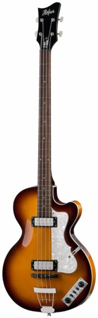 HOFNER IGNITION CLUB BASS GUITAR SUNBURST