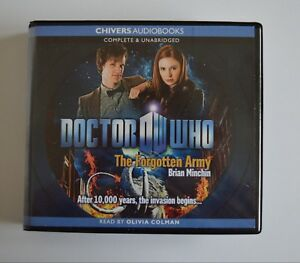 Doctor-Who-The-Forgotten-Army-by-Brian-Minchin-Chivers-Audiobook-6CDs