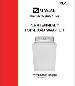 maytag centennial washer service repair manual ebay rh ebay com Maytag Centennial Washer Recall maytag centennial top load washer troubleshooting