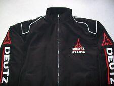 NEU DEUTZ F1 L514 Traktor Fan- Jacke schwarz jacket veste jas giacca jakka