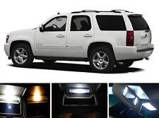 Xenon White Vanity / Sun visor LED light Bulbs for Chevrolet Chevy Tahoe (4 Pcs)