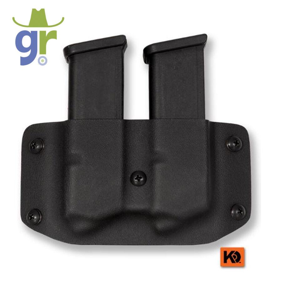 K Rounds Double Magazine Carrier Multi-Fit Sig-Sauer, CZ, Beretta, S&W M&P, 9 40