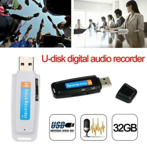 Mini USB Digital Pen Audio Voice Recorder Dictaphone 32GB Flash Drive Convenient