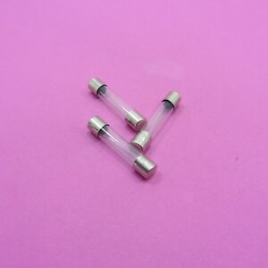 6mm-x-30mm-Slow-Blow-Glass-Fuses-250V-1A-30A-Amp-Different-Values