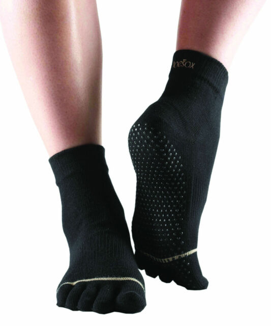 ToeSox Full Toe Ankle Pilates Yoga Dance Martial Arts Non Slip Socks *SALE*