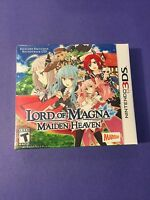Lord Of Magna Maiden Heaven Limited Edition + Bonus Music Cd (3ds)