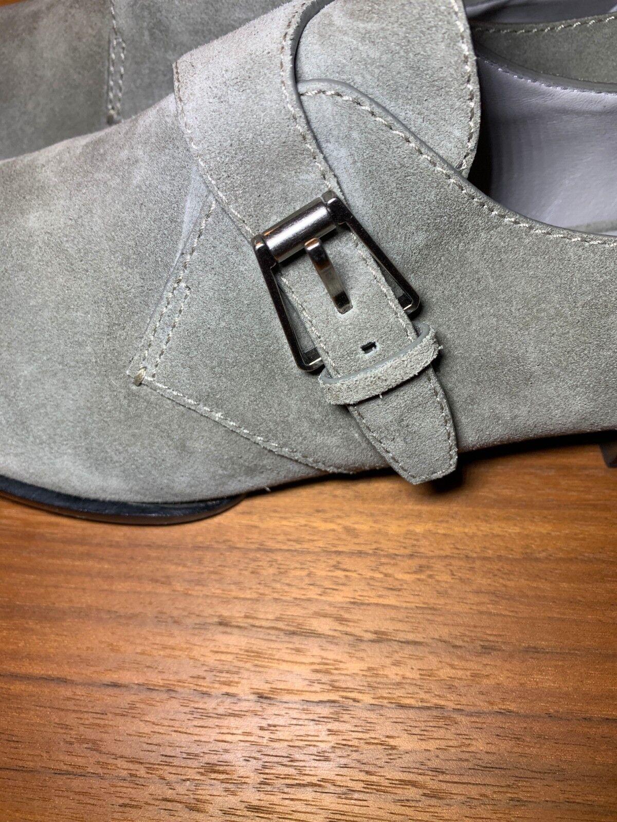 15c33c47c3a ... ALEXANDER WANG Monk Strap Oxfords shoes Suede Grey Size Size Size US 11  EU 41 063320 ...