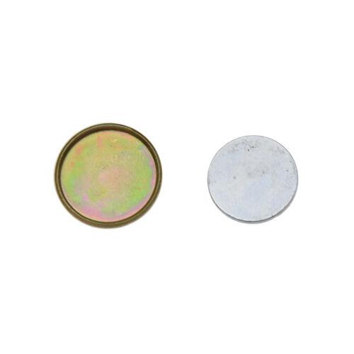 10 pcs À faire soi-même invisible Métal Magnétique boutons accessoires vestimentaires ronde Snaps