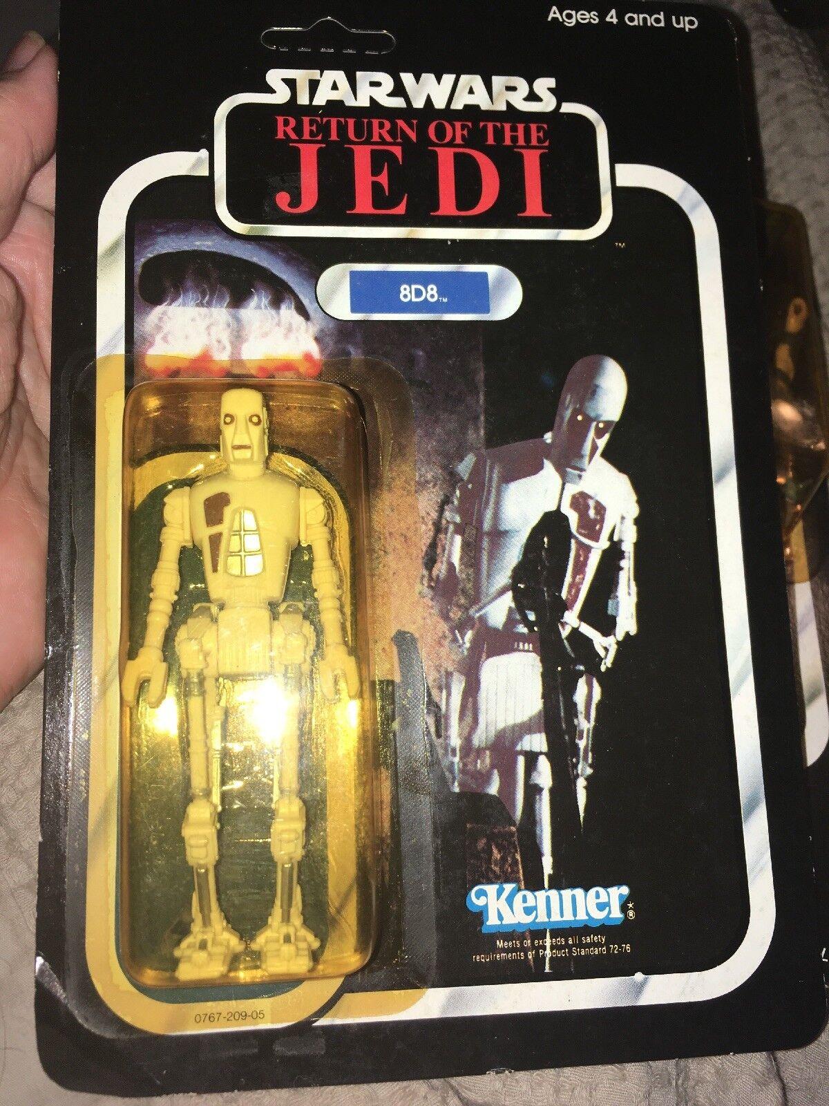 8D8 rossoJ  unpunched autod vintage estrella guerras azione cifra Return Of The Jedi 1983  negozio di moda in vendita