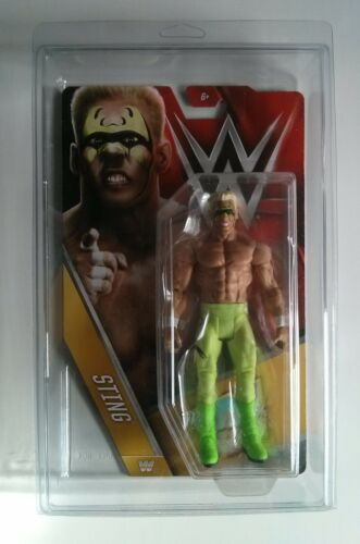 WWE Mattel Basic Action Figure EMPTY Protective Case Series Clamshell WWF Zombie