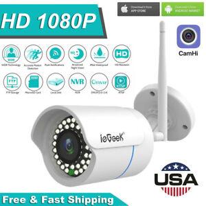 ieGeeK 1080P HD WIFI IP Camera Wireless Night Outdoor CCTV