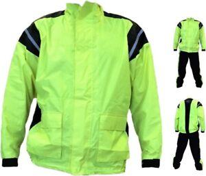 Giacca-giubbino-da-Moto-scooter-Antipioggia-anti-pioggia-Impermeabile-Antiacqua