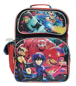"""Big Hero 6  Boys 16/"""" Large Roller Backpack"""