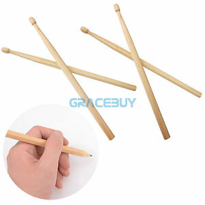 4pcs-Drumstick-Pencils-Drawings-pen-Gift-log-processing-Wooden-Musical-Drum-Pen