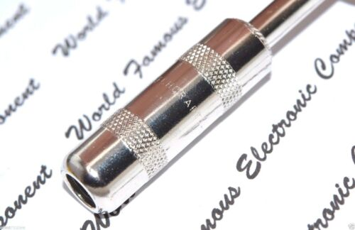 """Switchcraft 280 1//4/"""" 6.3mm Mono 2-Conductor Phone Male Plug for Guitar 1pcs"""