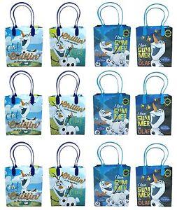 12ct Disney Star Wars Goodie Bags Birthday Bags Gift Bags Loot Goody Bags