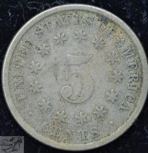 1882 Shield Nickel, Very Fine+ Condition, Buy 4 Items & Get $5 Off, C5115