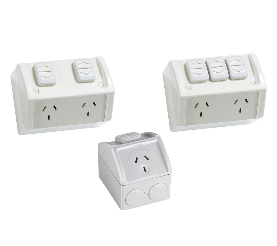 Weatherproof Power Point Outlet Socket Weather Gpo Water