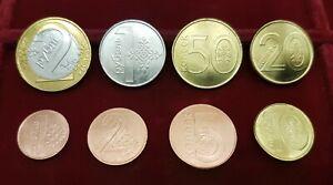 UNC Transnistria Set 4 Coins 5 3 1 D-2 2014 plastic coin 10 Rubles