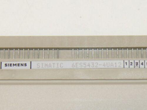 Siemens 6ES5432-4UA12//6ES5 432-4UA12 Módulo de Entrada Digital Simatic S5