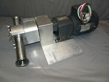 Unibloc Gp 275 Flowtech Food Pump Withgearmotors 3 230v 192 Inlb 112 Ratio 12hp