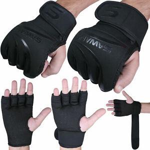 Sawans ® Boxe Gants intérieurs en néoprène Rembourré MMA Muay Thai Main Wraps Kick Boxing