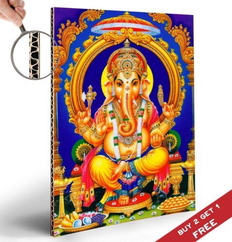 LORD GANESH GANESHA ELEPHANT HEADED INDIAN GOD Poster 30x21cm Home Art Print