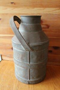 Milk-Jug-Vintage-Metal-Tank-Container-Antique-Dairy-storage-farm-Planter-decor