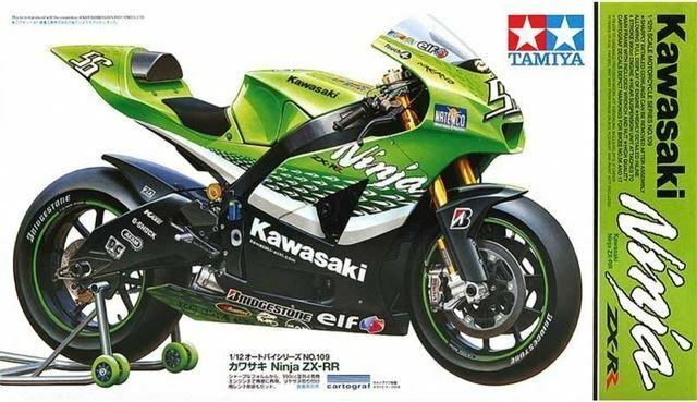 Tamiya Kawasaki Ninja ZX-RR 1/12 Escala Kit De La Motocicleta #14109