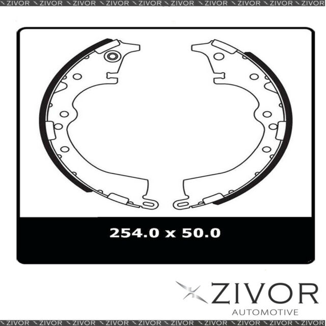PROTEX Brake Shoes - Rear For TOYOTA HILUX GGN15R 2D C/C RWD 2005 - 2013