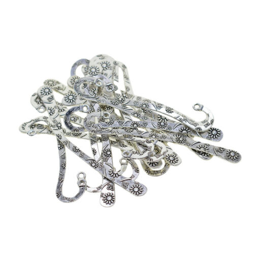 20Pcs Metal Bookmarks Book Marker Stationery Labels Beading Jewelry Crafting