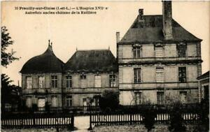 CPA PREUILLY-sur-CLAISE L'Hospice XVII s. (611953)