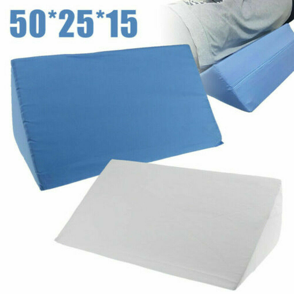 Bed Wedge Pillow Foam Body Positioner Elevate support Back N
