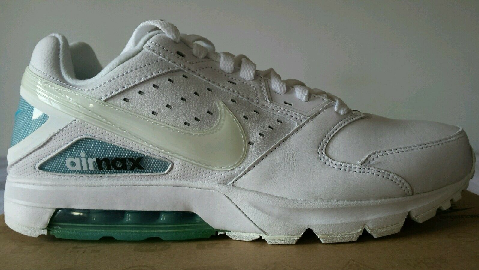 NIKE AIR MAX PREVIEW 97 BW BIANCA N.45 TUTTA IN PELLE NEW SPETTACOLARI OKKSPORT