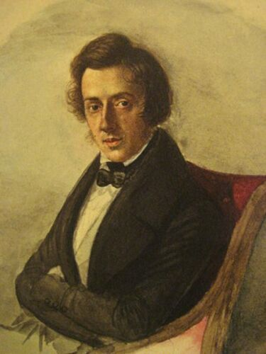 Frederic Francois Chopin 24X36 New Printed Poster Rare #TNW341729