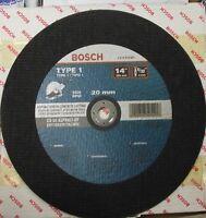 Bosch Cwps1a1420 14 X 5/32 X 20mm Arbor Asphalt Cutting Wheel 10pcs. Germany