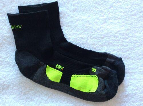 Da Uomo Nera di alta qualità KARRIMOR Pro Corsa Caviglia Calze XL 11 49 14UK 46