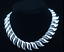 Vintage-Tiffany-amp-Co-Peretti-Sun-Wave-Necklace-Sterling-Silver-17-034-Very-Rare thumbnail 2