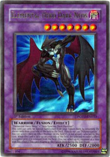Yugioh Elemental Hero Dark Neos POTD-EN033 Unlimited Ultra Rare Near Mint Fast S